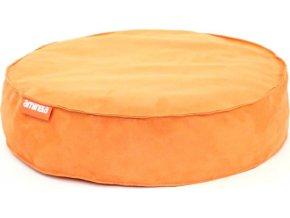 Kulatý pelíšek Aminela Full comfort 50 12cm oranzova