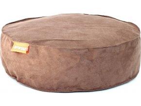 Kulatý pelíšek Aminela Full comfort 50 12cm hnědá