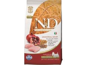 N&D Low Grain Dog Adult Mini Chicken & Pom. 0,8 kg