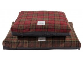 Tartanový luxusní potah na matraci L